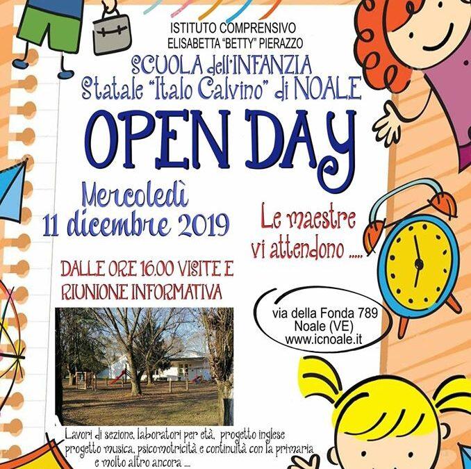 """Open Day – Scuola dell'Infanzia """"I. Calvino"""""""