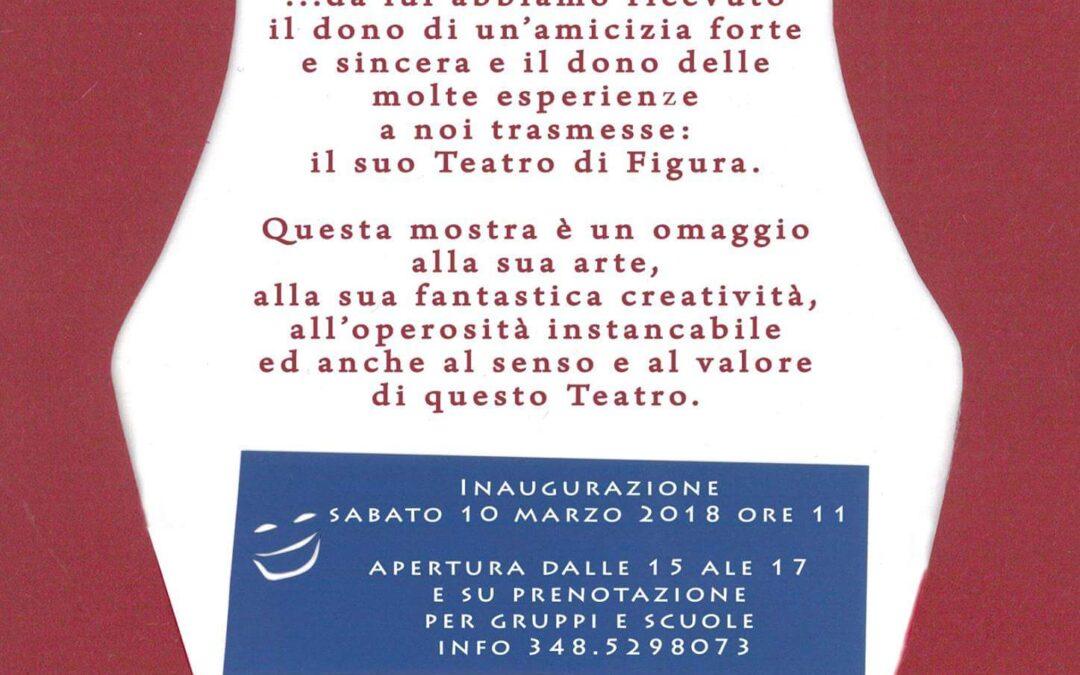 """Mostra """"Vita di un Burattinaio"""" dal 10 al 18 marzo al Palazzo della Loggia Noale"""